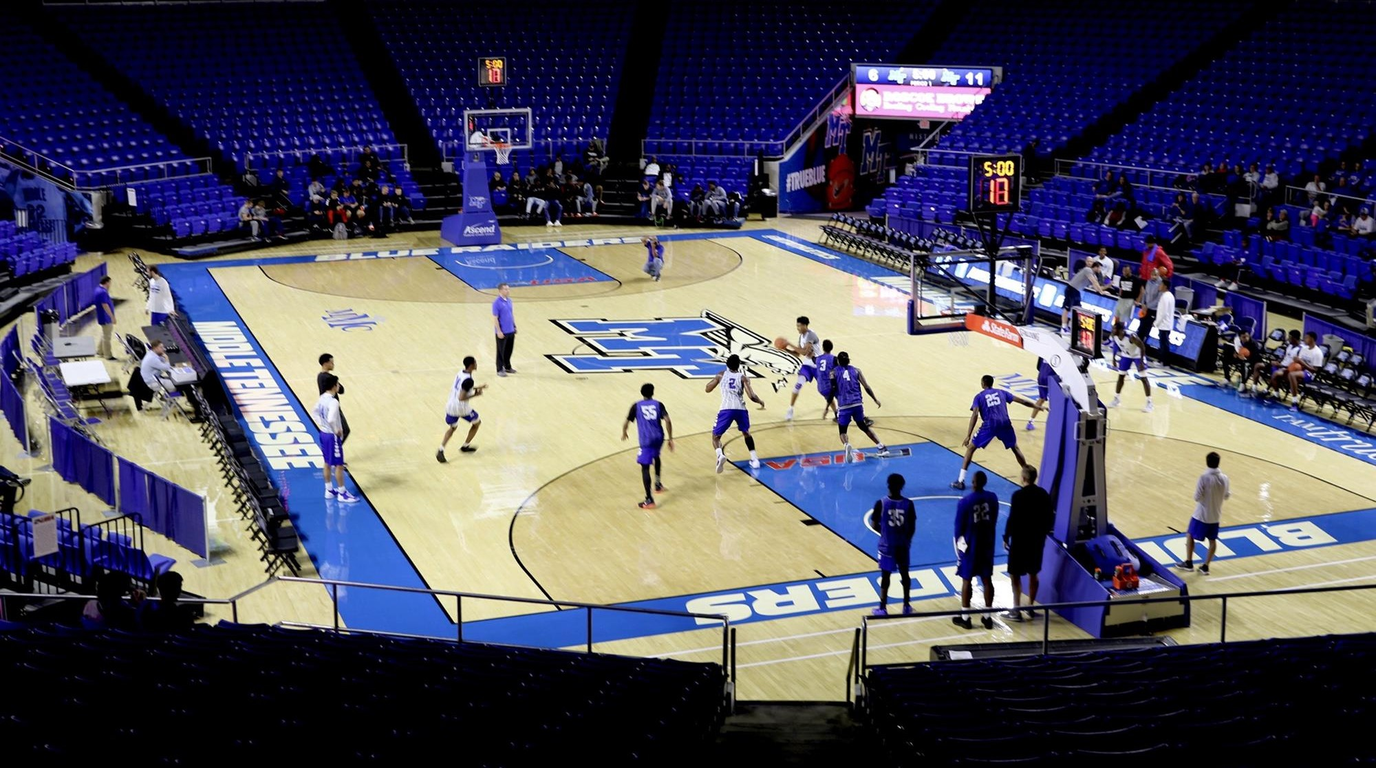 f591a4958 Changes breed excitement as Men's Hoops tipoff nears. Blue Raiders ...
