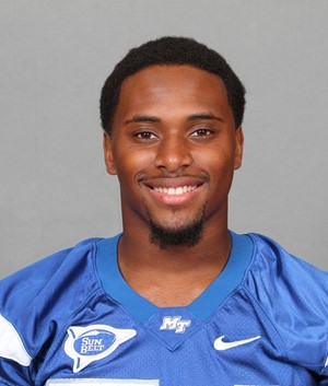 best loved 717bf f7371 Justin Jones - Football - Middle Tennessee State University ...